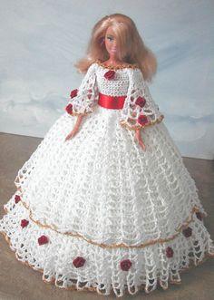 Crochet mode poupée Barbie patron - #626 Sud DESIGN #9