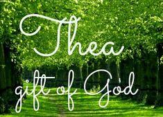Thea Gift Of God