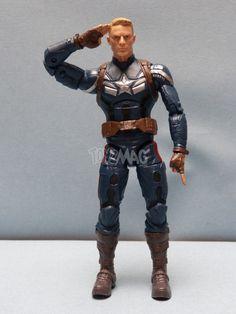 ToyzMag.com » Marvel Legends Infinite Series : TWS Captain America