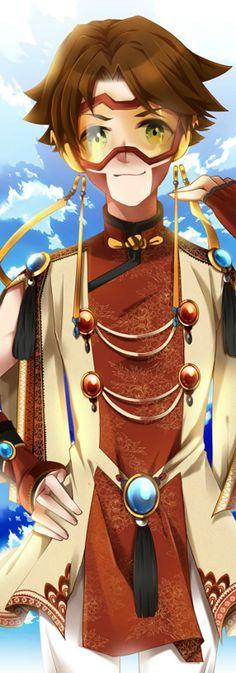 Oriental Style Bart Allen aka Impulse