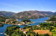 Geres Iberian Peninsula, Atlantic Ocean, Lisbon, Portuguese, Beautiful Places, Spain, Places To Visit, Europe, River