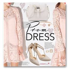 """""""Prom Lace Dress"""" by beebeely-look ❤ liked on Polyvore featuring Michael Kors, Prom, lace, sammydress, lacedress and promdoover"""