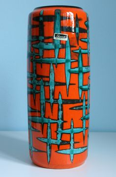 west German mid century art pottery is still so affordable works of historic art that will only increase in value
