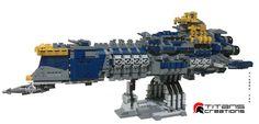 Cool Lego, Awesome Lego, Battlefleet Gothic, Lego Ship, Lego Spaceship, Space Battles, Lego Mechs, Sci Fi Ships, Lego Military