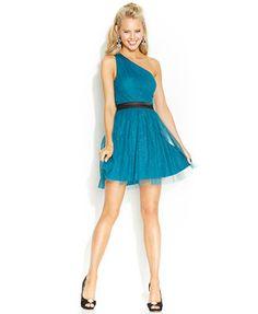 Hailey Logan by Adrianna Papell Juniors\' Sequin A-Line Dress ...