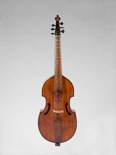 Attributed to Barak Norman | Bass Viola da Gamba | British | 1692-The Met