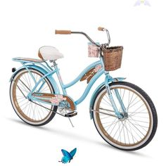 Huffy Bicycle Company Panama Jack Beach Cruiser Bike 24 inch Speed, Lightweight, Sky Blue Beach cruisers Beach-cruisers Vintage bikes Summer Mountain biking Outdoors Cycle chic Cycling Bicycles Extreme sports Road bike MTB Cycling gear Vintage bicycles Bmx Cycling art Bicycle design Cycling jerseys Women's cycling Cycling quotes World cup<br> Beach Cruiser Bikes, Cruiser Bicycle, Beach Cruisers, Women's Cycling Jersey, Cycling Gear, Cycling Jerseys, Womens Bike Helmet, Speed Bike, Style