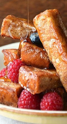 Cinnamon French Toast Sticks