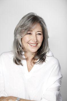 medium haircut for women over 50