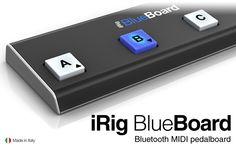 IK Multimedia | iRig BlueBoard - Bluetooth MIDI pedalboard
