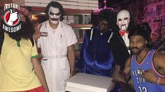 If there were a Halloween Hall of Fame, these two NBA stars would be first-ballot inductees.