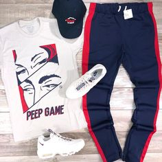 Do you wish you could choose your hoodie on a regular basis? Our design aid shows you how to actually. Dope Outfits For Guys, Swag Outfits Men, Nike Outfits, Trendy Outfits, Teen Boy Fashion, Tomboy Fashion, Estilo Tomboy, Polo Outfit, Mens Clothing Styles