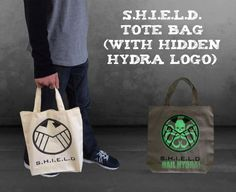 Picture of S.H.I.E.L.D. Tote Bag (With Hidden Hydra Logo)