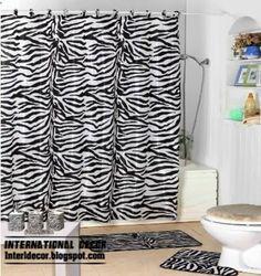 Bathroom Ideas: Zebra Print Accessories