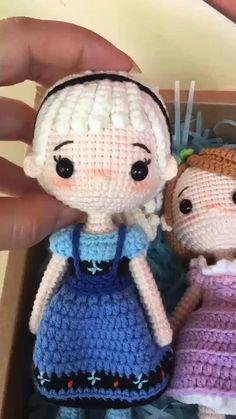Irish Crochet Patterns, Crochet Animal Patterns, Crochet Doll Pattern, Crochet Patterns Amigurumi, Crochet Motif, Amigurumi Doll, Crochet Animals, Crochet Flowers, Knit Crochet