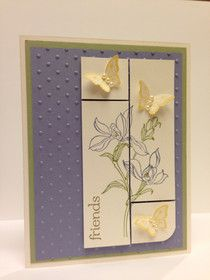 Stampin' Harley Girl: Stampin' Up! Backyard Basics Friend Card