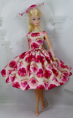 Flight of Floral for Silkstone Barbie and Victoire Roux on Etsy - Matisse Fashions