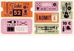 Ticket packaging | by Telegramme Studio