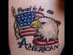 Eagles flag tattoos and eagle tattoos on pinterest for Tattoo requirements for national guard