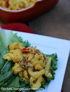 BLT Mac & Cheese | Pocket Change Gourmet