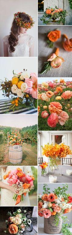 À L'orange. | Rock My Wedding