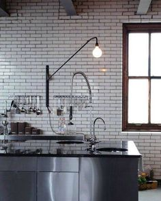 Moveable light for around the kitchen