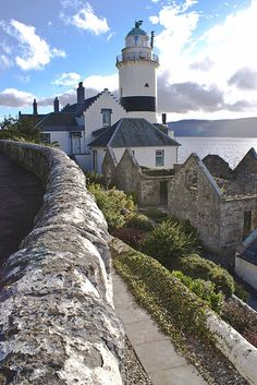 The Cloch Lighthouse - Scotland. Our tips for 25 fun things to do in Scotland: http://www.europealacarte.co.uk/blog/2010/12/30/things-scotland/