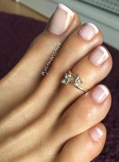 I like this pedicure. Very plain and simple