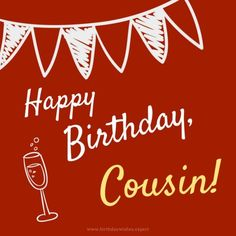 Happy Birthday Cousin, Happy Birthday Greetings Friends, Happy Mothers Day Wishes, Birthday Wishes For Myself, Happy Birthday Messages, Happy Birthday Images, Happy Birthdays, Birthday Cards, Family Birthdays