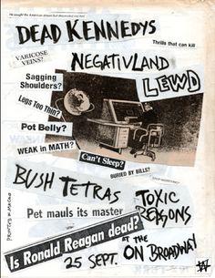 Dead Kennedys etc.
