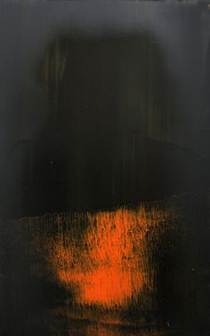 "Koen Lybaert; Oil, 2013, Painting ""abstract N° 597"""
