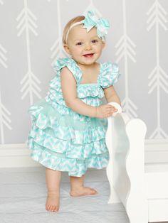 Alwaysunderpay.com - Frozen Aqua Chevron Petti Dress, $7.99 (https://www.alwaysunderpay.com/frozen-aqua-chevron-petti-dress/)