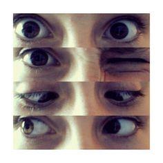 My eyes glo <3