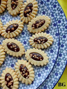Barquettes aux amandes chocolat et pralin d'amandes