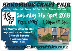 LovesVintage43 will be trading at T.C.F'S Handmade Craft Fair on Saturday 7th April