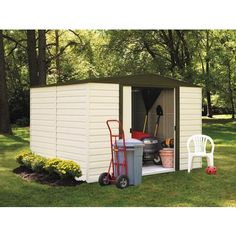 Costco Lifetime 8 ft x 15 ft Storage Shed Daycare Playspaces