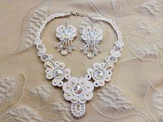 soutache wedding necklace - Szukaj w Google