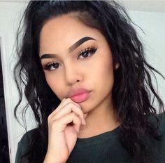melissa, goal, makeup, girl, hair