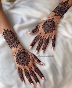 Henna Design By Fatima Untitled Henna Hand Designs, Dulhan Mehndi Designs, Henna Tattoo Designs, Henna Tattoos, Tribal Henna Designs, Pretty Henna Designs, Mehndi Designs Finger, Mehndi Design Photos, Unique Mehndi Designs