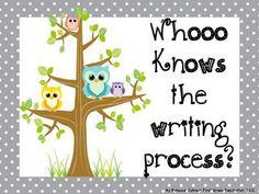 Owl and Polka Dot Writing Process
