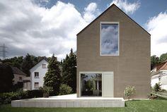 Doppelhaus in Münchenstein von Steinmann und Schmid, Basel  Dokumentation in Detail Reihen- und Doppelhäuser