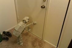 He does this every time I leave for work, and it breaks my heart. Every. Time. (you've got to read the comments, they're even funnier)
