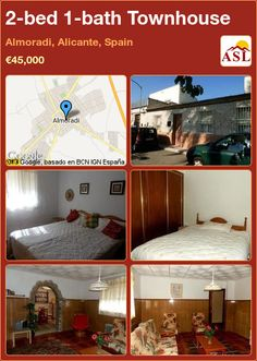 2-bed 1-bath Townhouse in Almoradi, Alicante, Spain ►€45,000 #PropertyForSaleInSpain