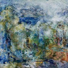 """Saatchi Art Artist tage fredheim; Collage, """"Fjord"""" #art"""