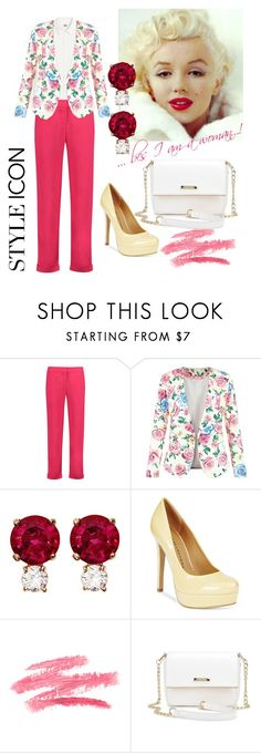 """""""I wear pink...bcs I am a woman !"""" by tanya-dayal ❤ liked on Polyvore featuring Balmain, New Look, Jemma Wynne, Chinese Laundry and IWearPinkFor"""