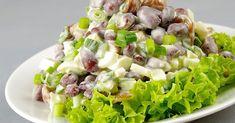 NapadyNavody.sk | 10 najlepších zeleninových šalátov: výživné a chutné Fruit Salad, Cobb Salad, Russian Recipes, Pasta Salad, Potato Salad, Cabbage, Food And Drink, Vegetables, Ethnic Recipes