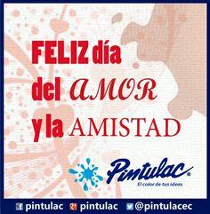 Feliz día de San Valentín a todos www.pintulac.com.ec