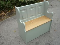 Edmunds Monks Bench - Painted - Benches and Stools - Pine Shop Bury