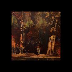 "Charles S Chapman American Impressionist ""Figure in a Landscape""circa Frederic Remington, Pratt Institute, New York School, Art Students League, Forest Painting, Natural History, Art School, Impressionist, Landscape"