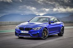 Arriving in the U.S. next year, the BMW M4 CS slots above the M4 with Competition package.